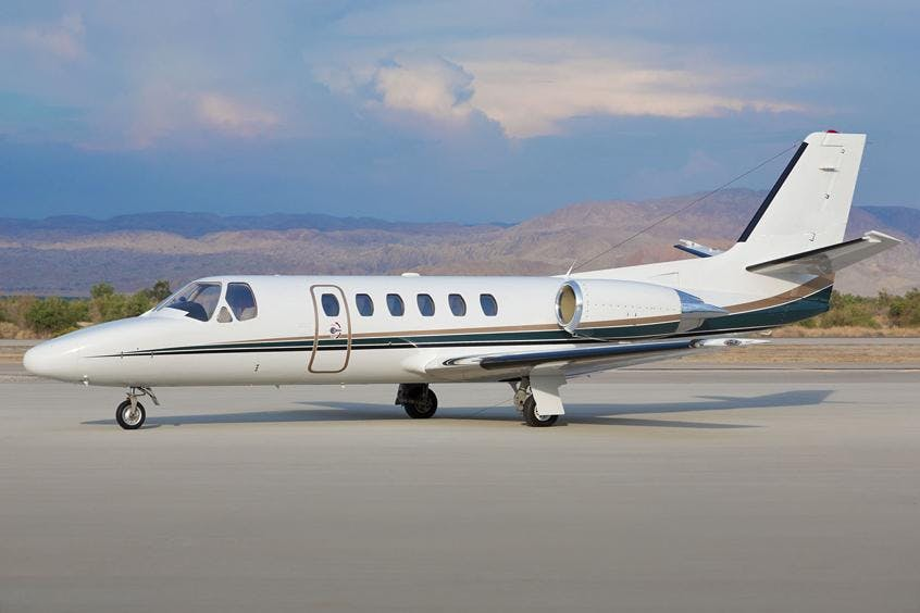 Cessna-C550-Citation-Bravo-PrivateFly-AA9989