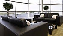 Paris Le Bourget Airport Signature lounge