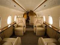 Bombardier Global Jet Cabin