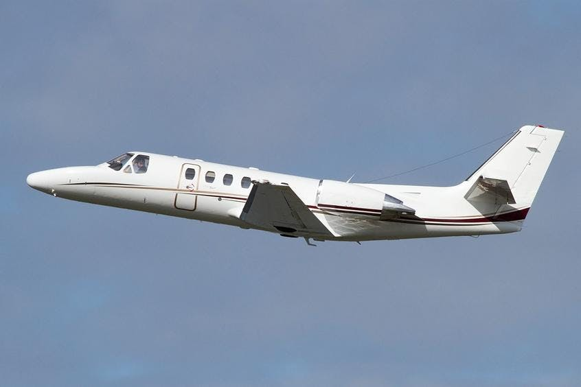 Cessna-C550-Citation-Bravo-PrivateFly-AA9991