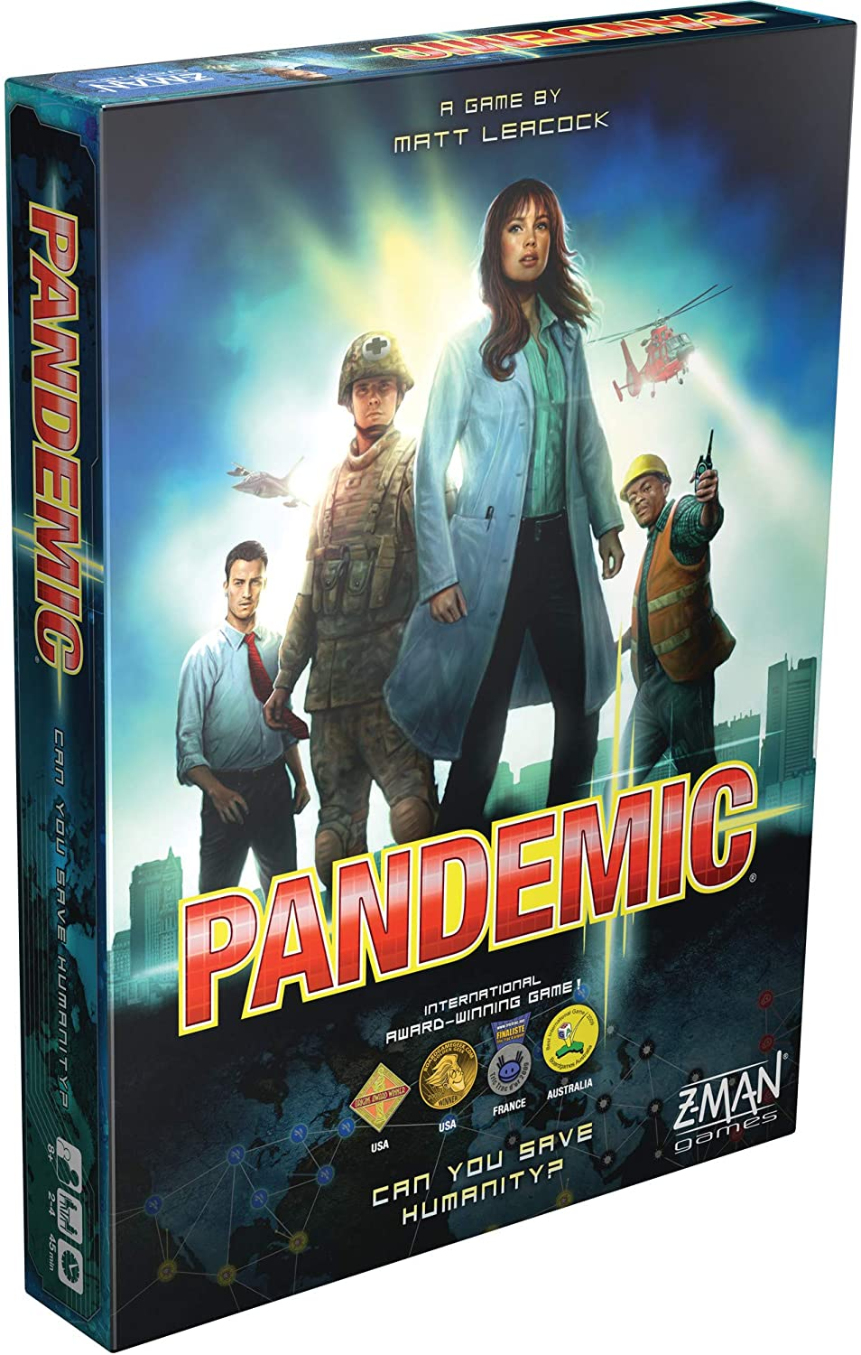 pandemic strategy board game
