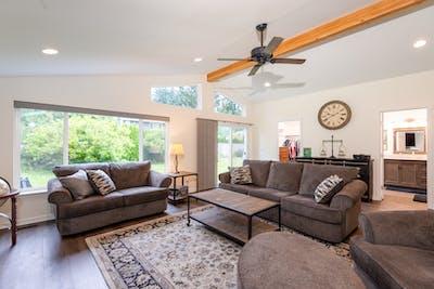 Fall City living room addition