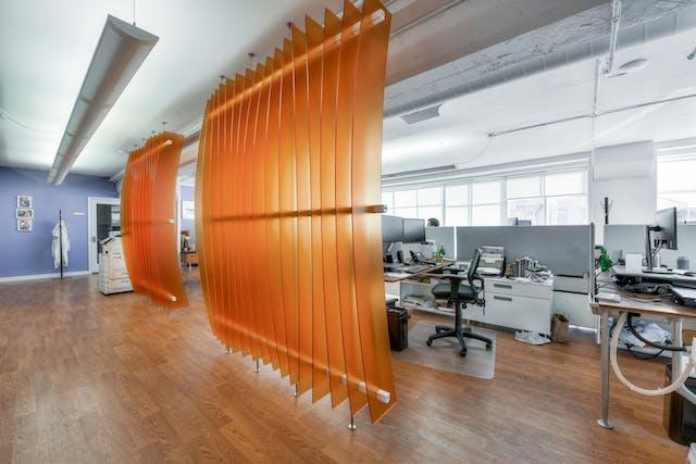 San Francisco office open floor plan