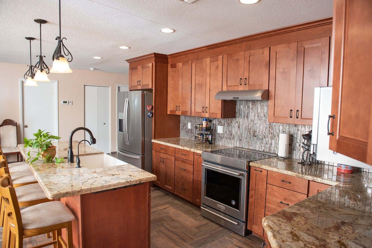Glendale kitchen remodel corner