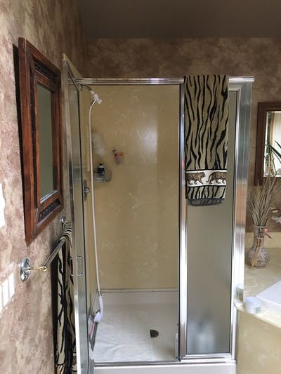 Everett bathroom shower before