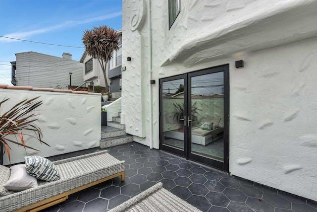 Sunnyside home remodel roof deck door