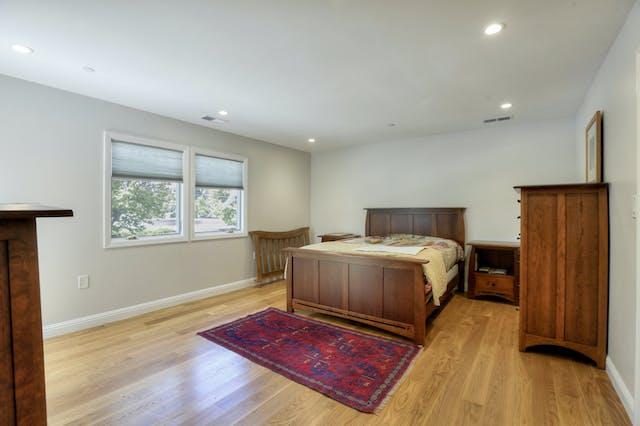 Burlingame addition bedroom