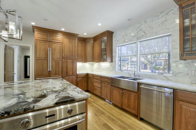 Burlingame addition kitchen