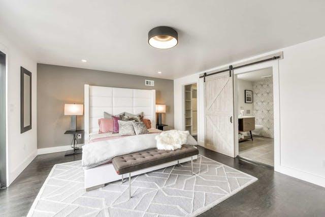 Sunnyside home remodel master bedroom