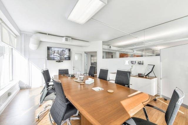 San Francisco office board room