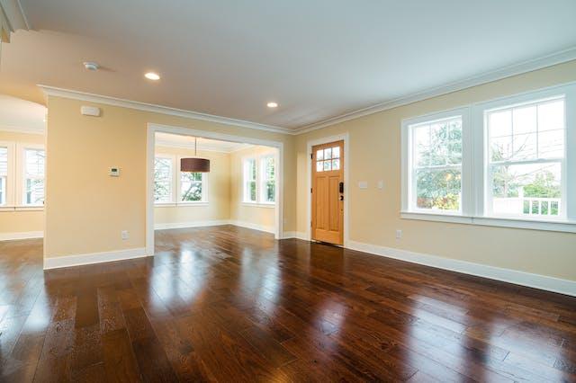 Seattle addition - interior living room