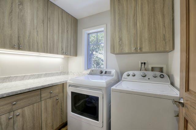 Burlingame addition laundry room