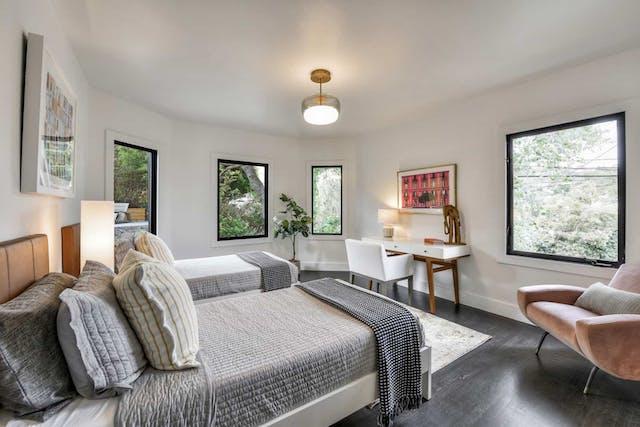 Sunnyside home remodel guest bedroom