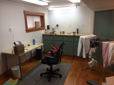Ballard basement before