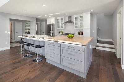 Ravenna new construction kitchen