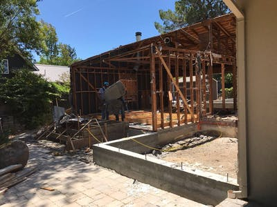 Portola Valley Addition - Construction