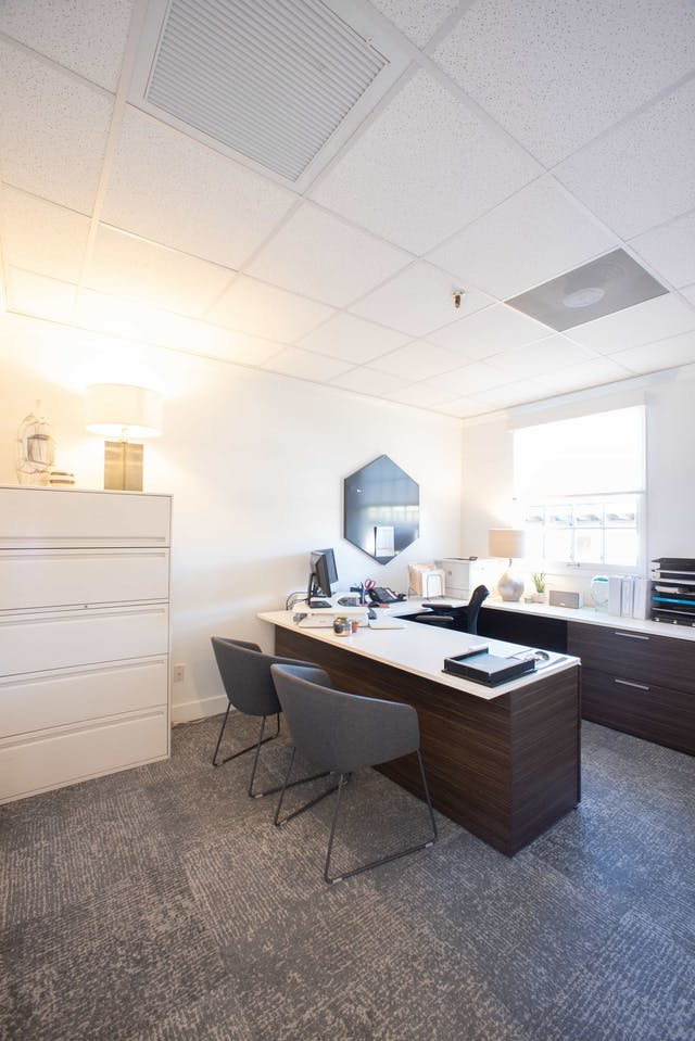 Scottsdale office remodel - private office