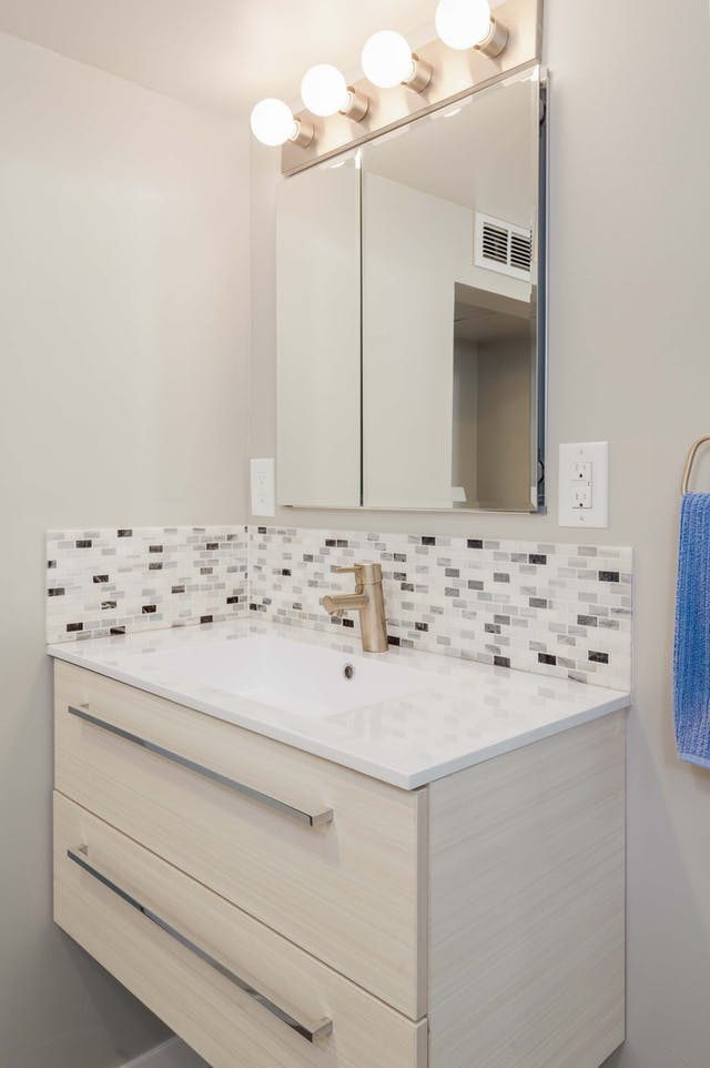 Greenwood Village basement remodel - bathroom vanity