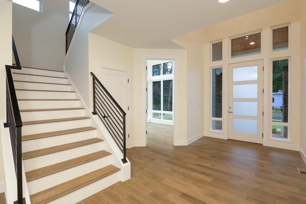 South Rose Hill New Home Construction – Foyer