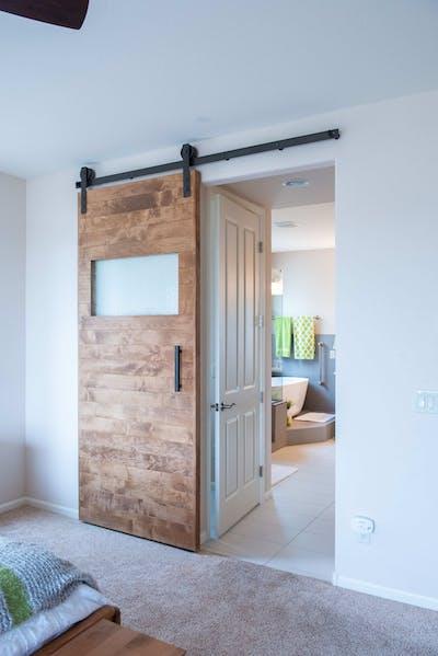Goodyear bathroom farmhouse door