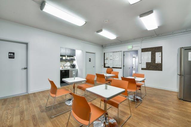 San Francisco office break room