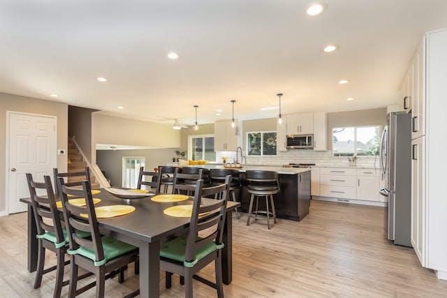 Goldsmith kitchen remodel full room