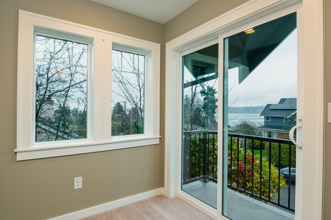 Seattle addition - master bedroom reading nook