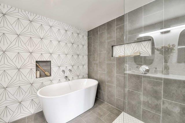 Sunnyside home remodel master bathroom shower