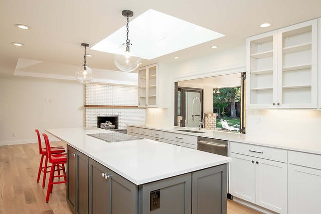 Cherry Hills Village Home Remodel - kitchen skylight