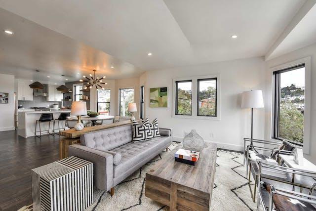 Sunnyside home remodel living room