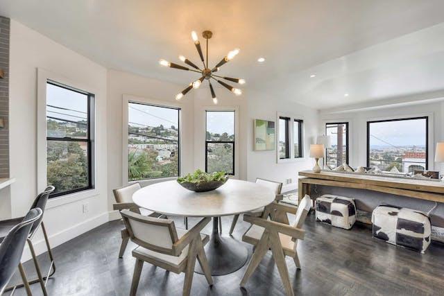 Sunnyside home remodel dining room windows