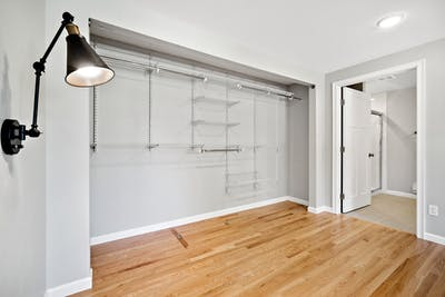 Northgate addition closet