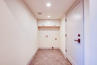 Hampden South laundry room