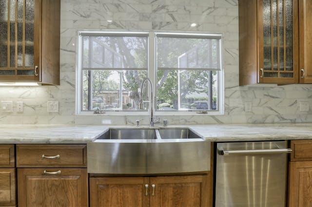 Burlingame addition sink