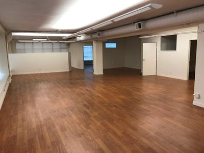 San Francisco office floorplan before