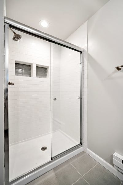 Northgate addition shower