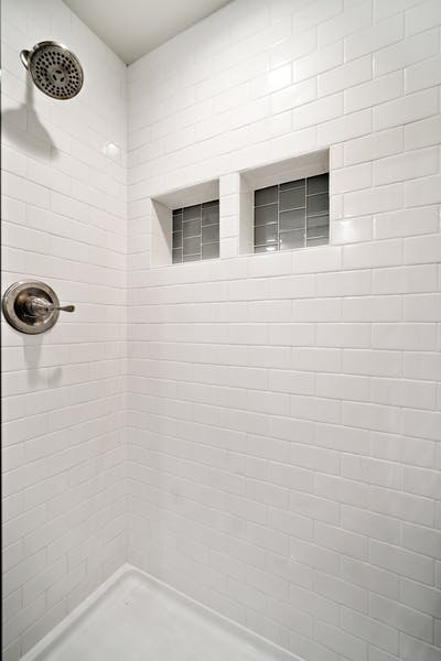 Northgate addition shower tile
