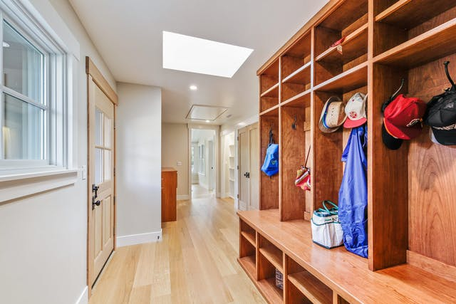 Portola Valley Addition - Mudroom