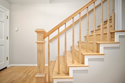 Edmonds townhouse stairs