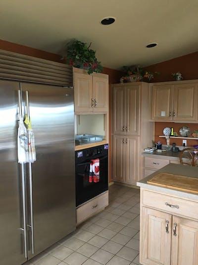 Everett kitchen refrigerator before