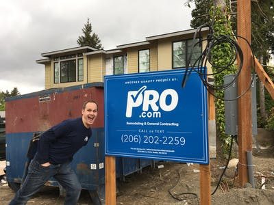 Pro.com sign