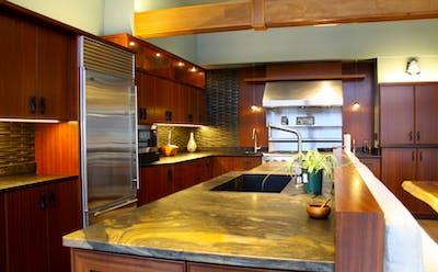 Kirkland kitchen remodel island