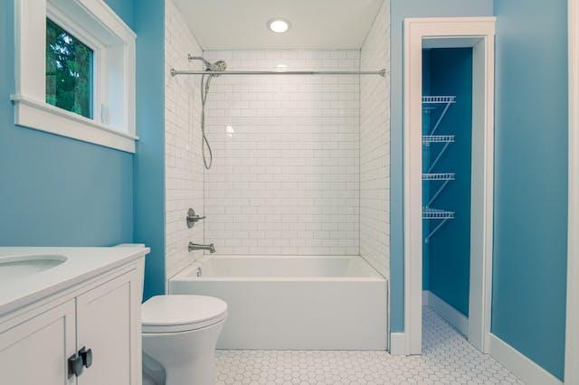Seattle addition - jack and jill bathroom