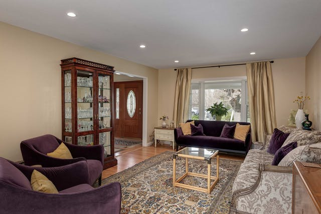 Mountain View living room remodel