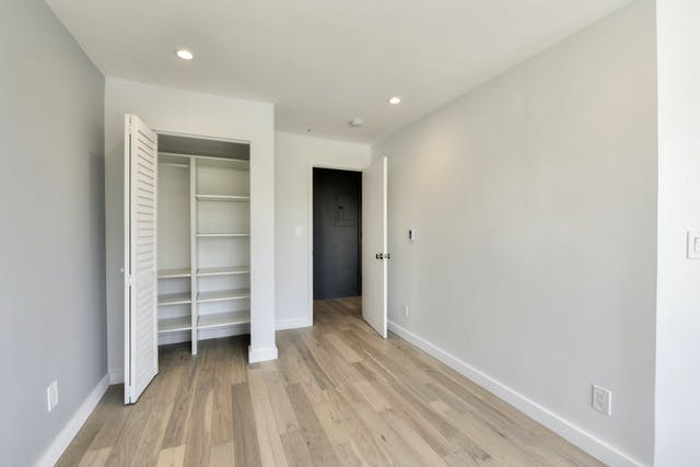 San Francisco ADU bedroom closet
