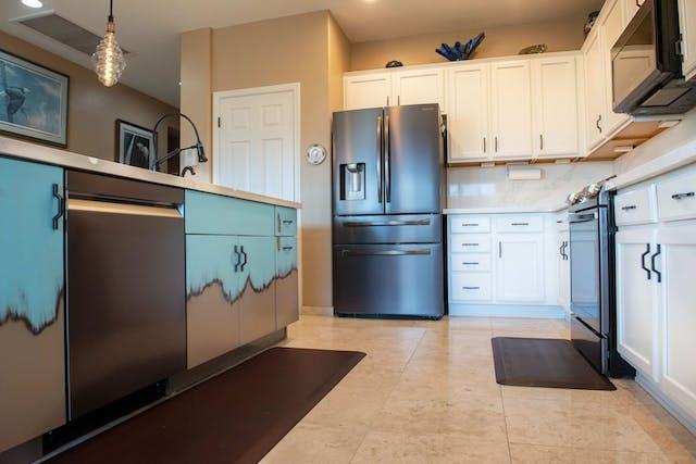 Phoenix kitchen remodel flooring