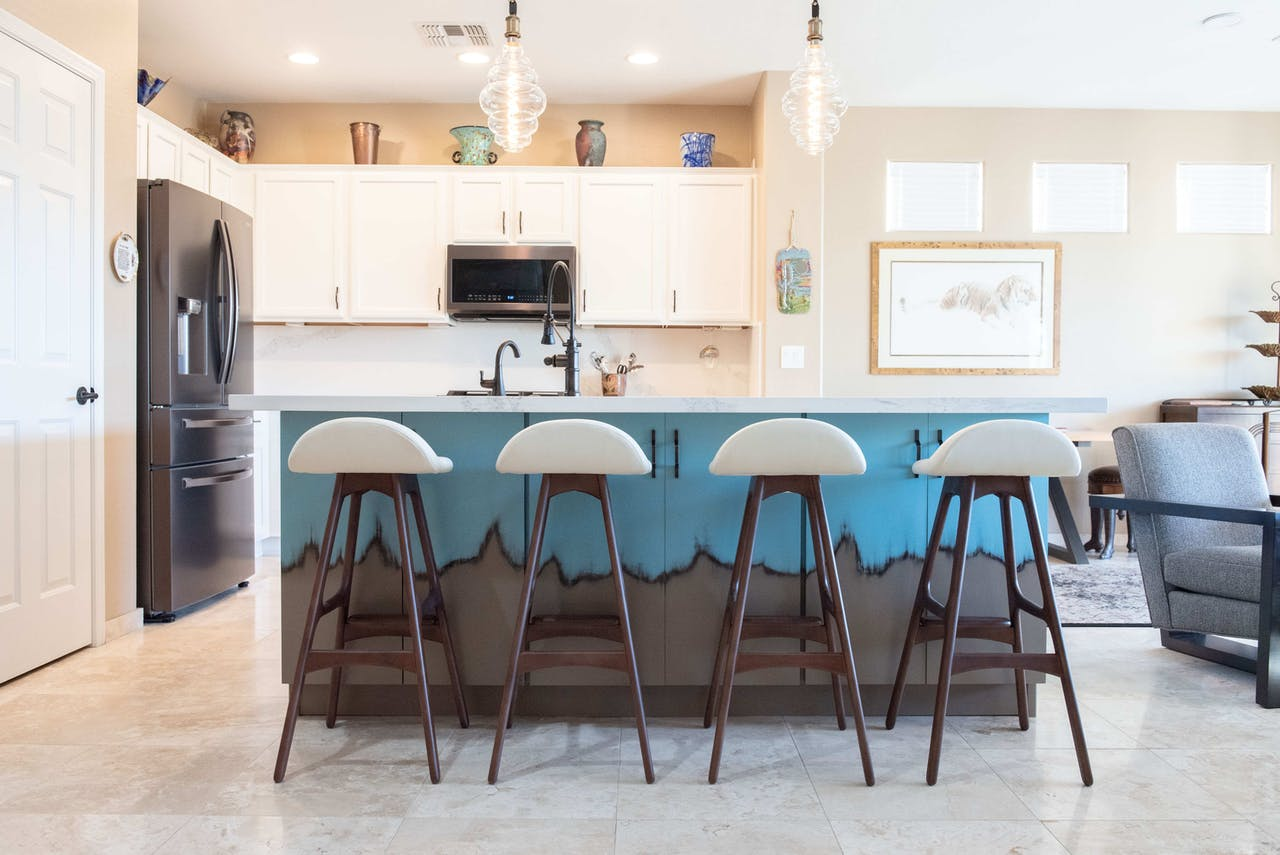 Phoenix kitchen remodel island