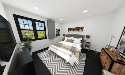 3D Lake City Basement Remodel Bedroom