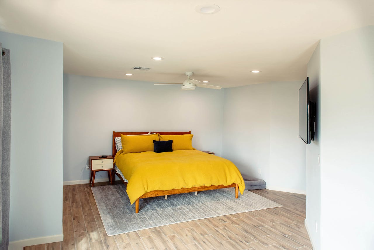 Scottsdale addition bedroom