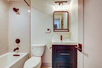 Hampden South copper bathroom